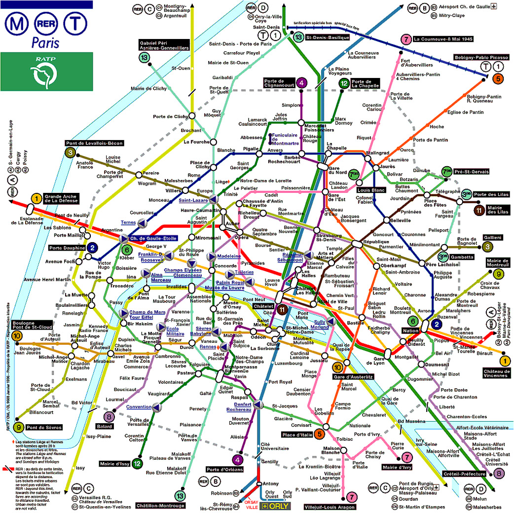 paris metro hours bastille day